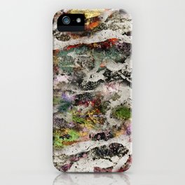 Abstract with Leaf iPhone Case