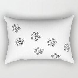 Cat tracks Rectangular Pillow