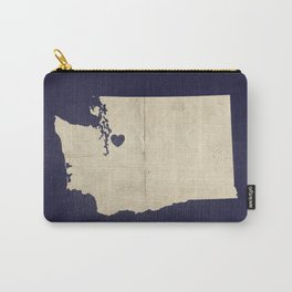 Seattle, Washington Carry-All Pouch