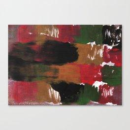 Multicolor watercolor Canvas Print
