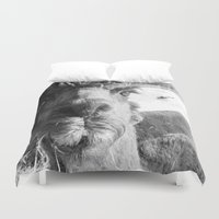 alpaca Duvet Covers featuring Alpaca by WoosterTheRooster
