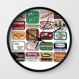 Tins Wall Clock