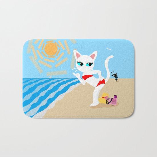 BEACH! Bath Mat