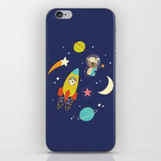Space Critters iPhone & iPod Skin