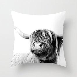 HIGHLAND CATTLE FRIDA Throw Pillow