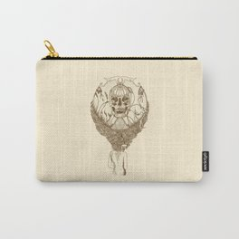 lady death // brown Carry-All Pouch