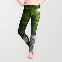 Appalachian Adventure - Ricketts Glen State Park Leggings