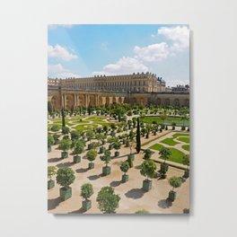 Chateau de Versailles Metal Print