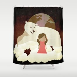 Homesickness 4 Shower Curtain