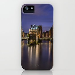 Hamburg River iPhone Case