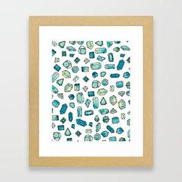 Gems 1 Framed Art Print