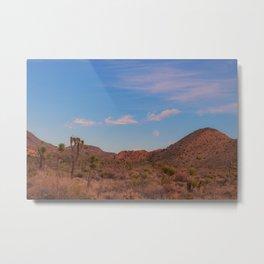 Mojave Moon Metal Print