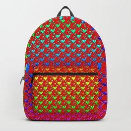 Regenbogenherzen - Rainbow hearts Backpack
