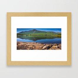 Killary Harbour fjord in Northern Connemara, Ireland Framed Art Print