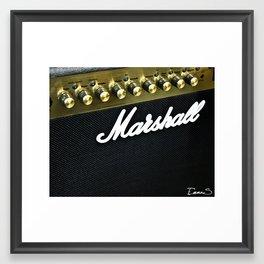 Make it louder ! Framed Art Print