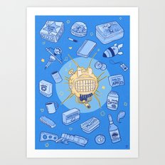 ED-E my love Art Print