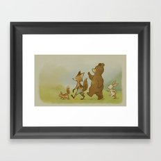 We're Off To Candlemoon Woods Framed Art Print