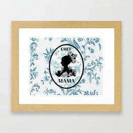 Chef Mama Framed Art Print