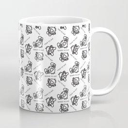 See No Evil, Hear No Evil, Speak No Evil Minimal Monkeys Coffee Mug