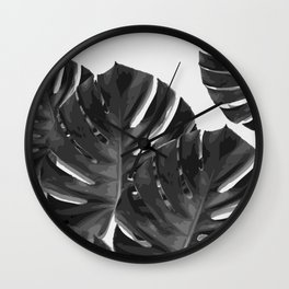 Monstera_Le_2 Wall Clock