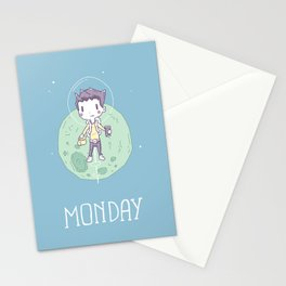 Space Monday Stationery Cards
