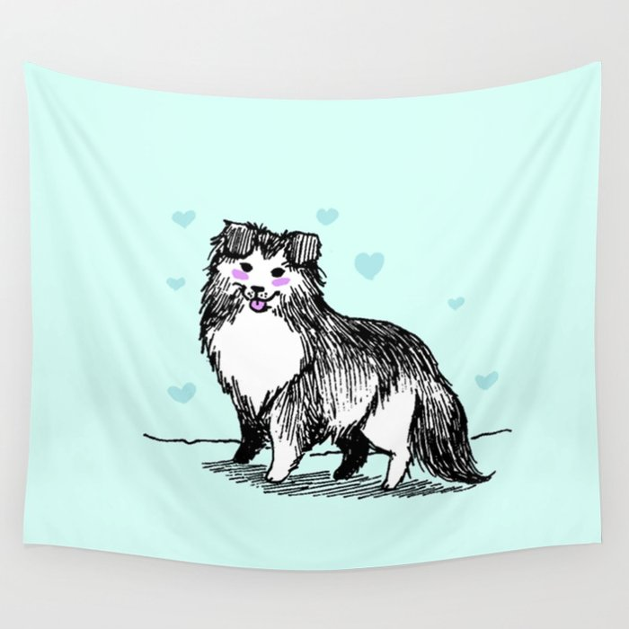 A Very Good Boy Wall Tapestry