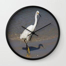 Ballet on the Beach Wall Clock