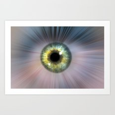 Eye Cosmic Art Print