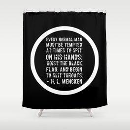 Hoist The Black Flag Shower Curtain