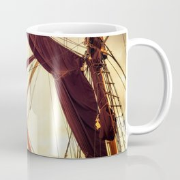 Masts of Yacht Coffee Mug