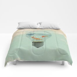 Ideas and Goldfish (RM) Comforters