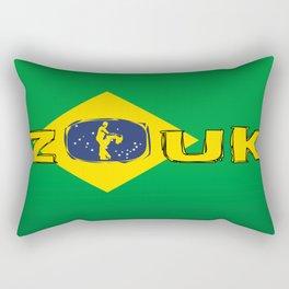 colors of brazil - lets dance brazilian zouk Rectangular Pillow