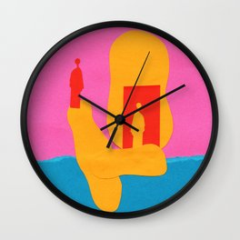 Projections Wall Clock