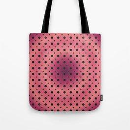 optical dots Tote Bag