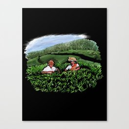 99 - Kerala tea estates… Canvas Print