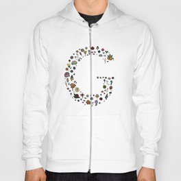 Letter G - Plants and Flower growth Hoody