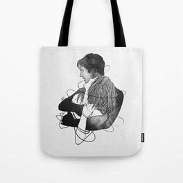 Surrounded with your deepness. Tote Bag