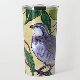 Partridge in a Pear Tree Travel Mug