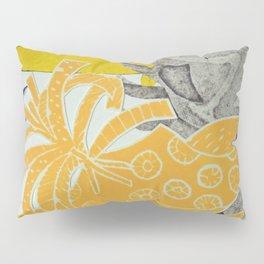 Modern Botanical Pillow Sham