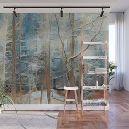 """Ice Storm"" Wall Mural"