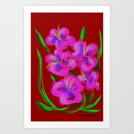 Cheerful Art Print