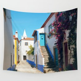 Obidos, Portugal (RR 175) Analog 6x6 odak Ektar 100 Wall Tapestry
