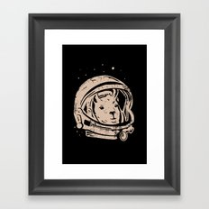 Astrollama Framed Art Print