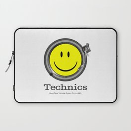 Technics Deejay - Smiley Laptop Sleeve