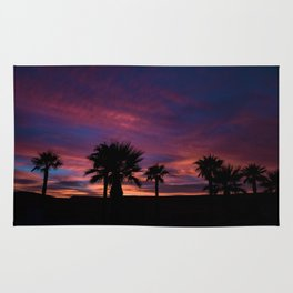 Palm Sunset - 7 Rug