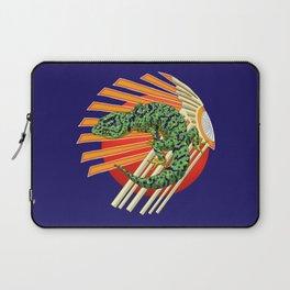 Native Japanese Gecko Laptop Sleeve