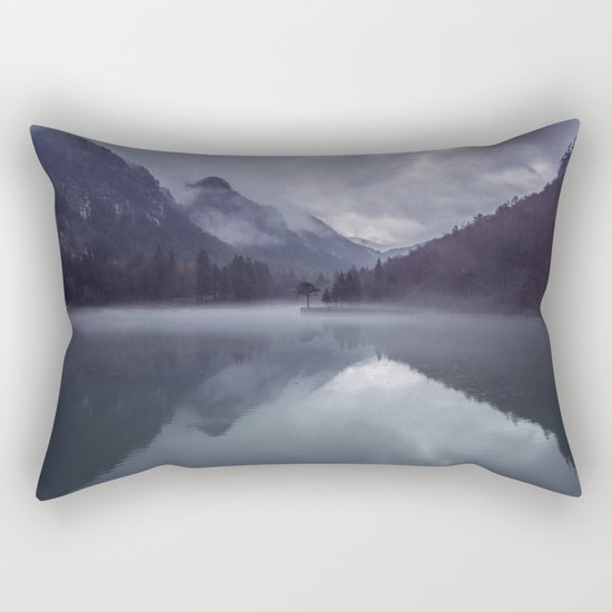 Wanderlust Forest on the Water Rectangular Pillow