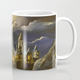 Castel at Starry night Coffee Mug