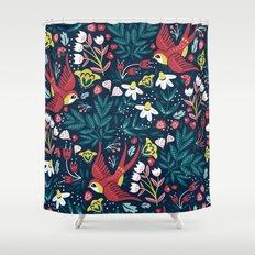 Vintage Fashion Shower Curtain