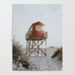 Summer at the beach - Landscape and Nature Photography Poster